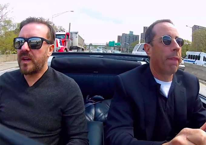 who s in the passenger side of jerry seinfeld s ride for comedians in cars getting coffee. Black Bedroom Furniture Sets. Home Design Ideas