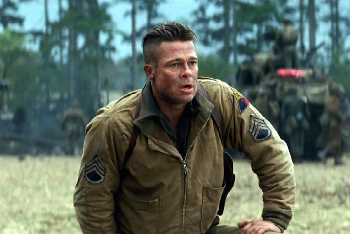 Watch new tv spot and photos for brad pitts wwii action flick watch new tv spot and photos for brad pitts wwii action flick fury indiewire urmus Images