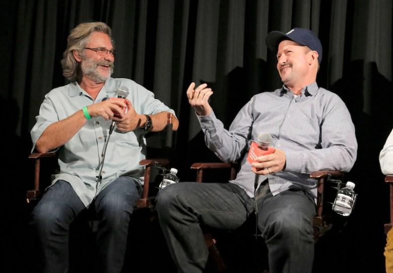 Kurt Russell & Oscar Nominee Todd Field On Sports Vs