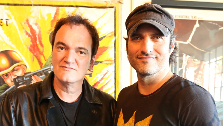 Watch Robert Rodriguez Interviews Quentin Tarantino In Red Band The Director S Chair Clip Indiewire