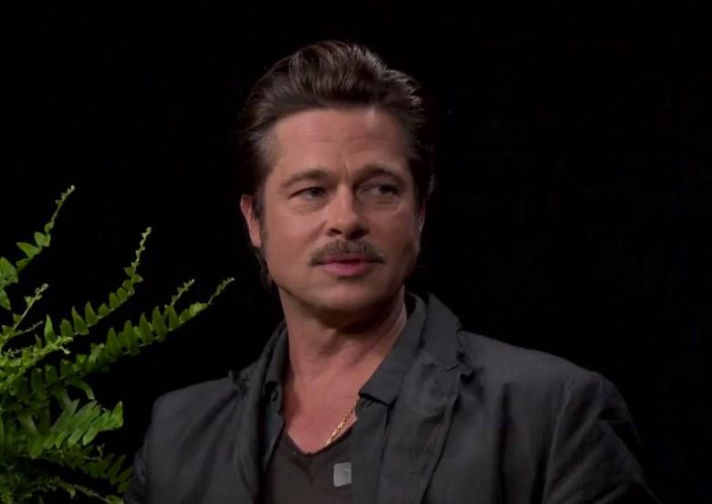 Watch: Zach Galifianakis Asks to Borrow Brad Pitt's Sperm in New 'Between  Two Ferns' Sketch