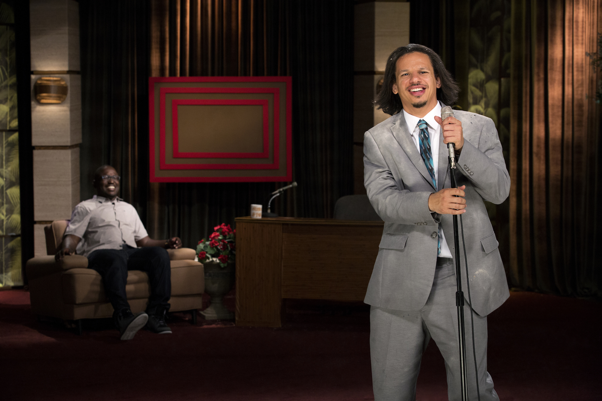 eric andre show the wire wire center