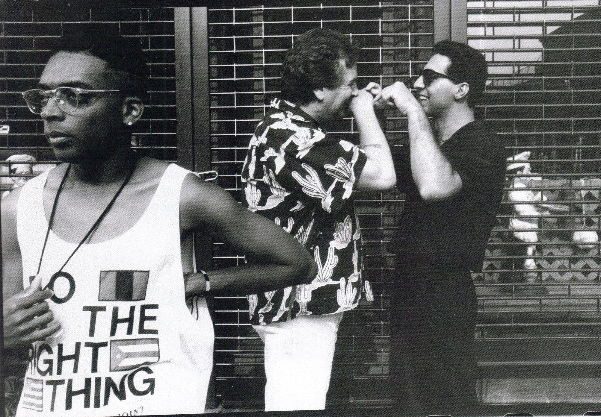 Young Spike Lee Do The Right Thing