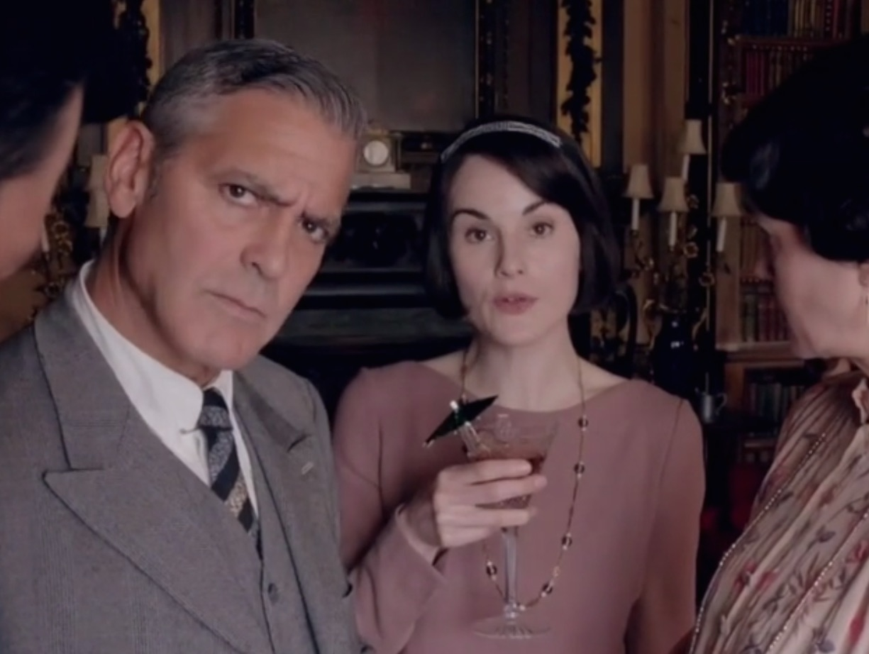 Fashion style George watch clooneys full downton abbey appearance for lady