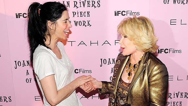 Sarah Silverman as joan rivers
