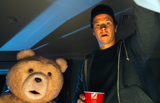 Watch first trailer for ted 2 delivers new poop pee for Ted s fish fry