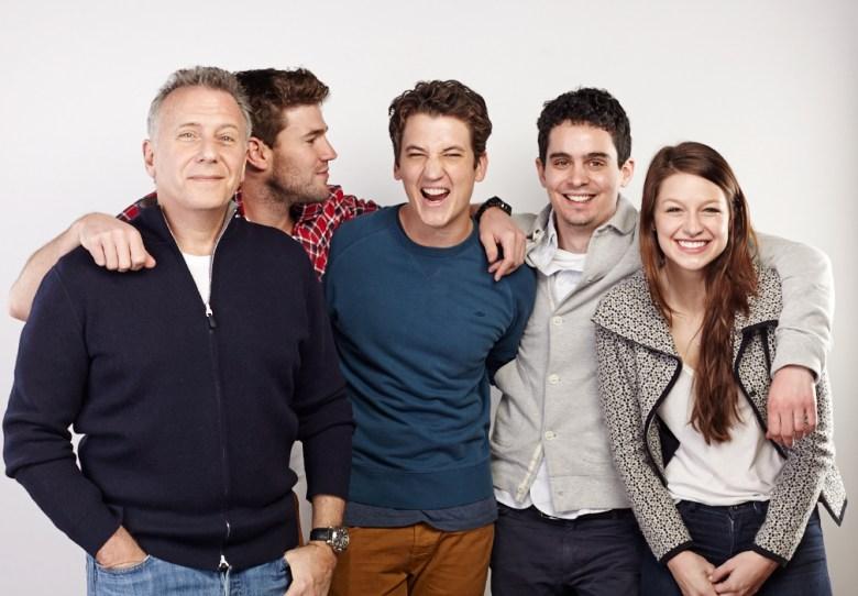 Paul Reiser, Austin Stowell, Miles Teller, director Damien Chazelle, Melissa Benoist