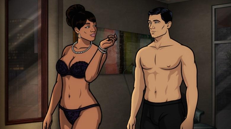 Archer and lana sex scene