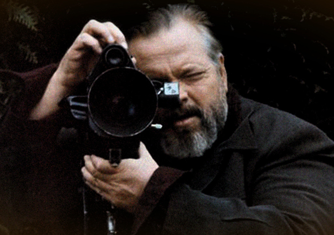 "Orson Welles in ""F for Fake"""