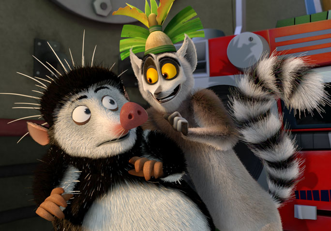 immersed in movies  the return of  u2018all hail king julien