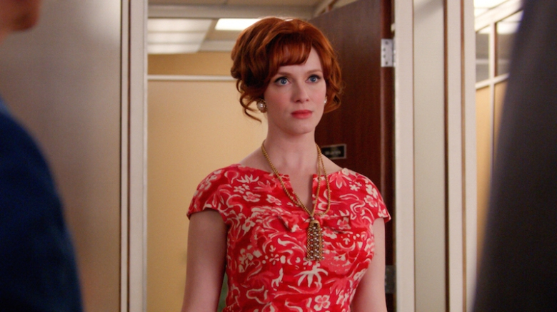 Christina Hendricks Is One Hot Ticket As Mad Men Gets Ready To Fade Into The Television Landscape The Woman Who Made Joan Her Own Has Been Taking Roles