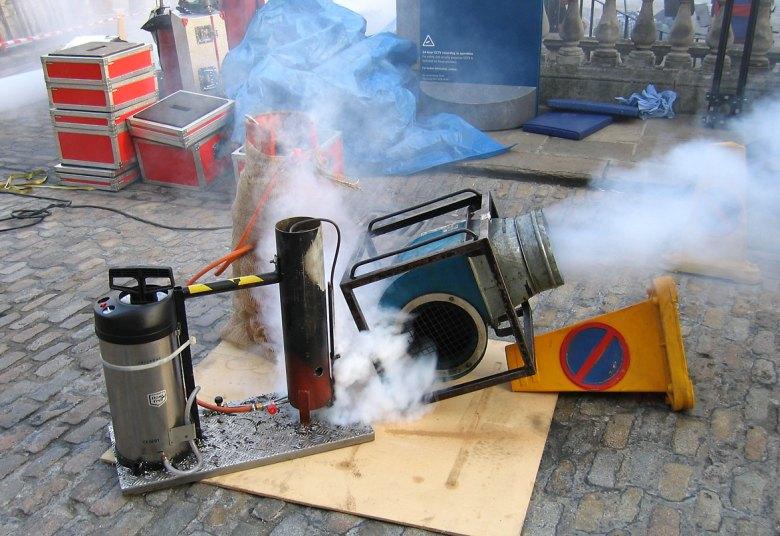 automotive smoke machine rental
