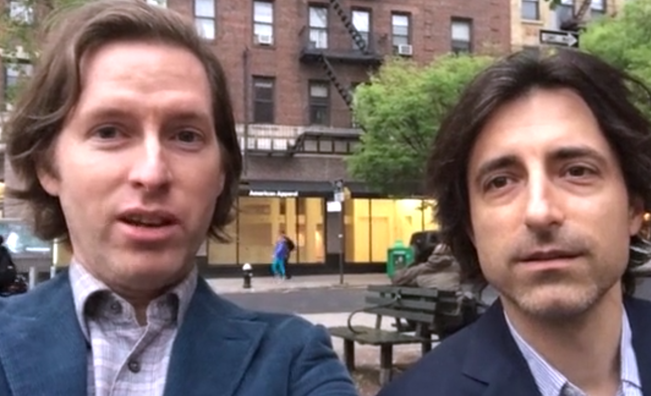 Watch: Wes Anderson and Noah Baumbach Campaign for the ...  Watch: Wes Ande...