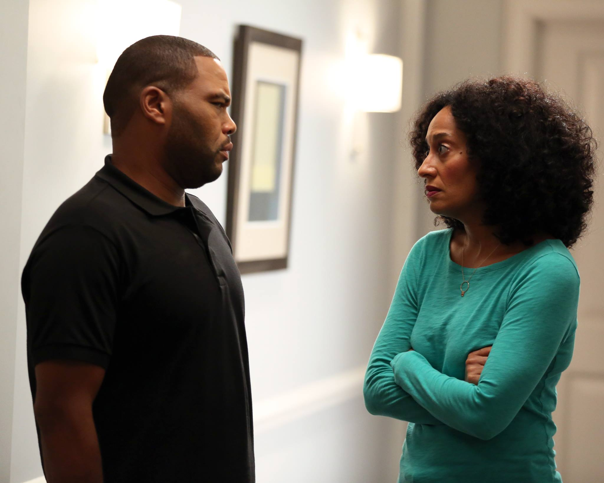 Image result for blackish tracee ellis ross and anthony