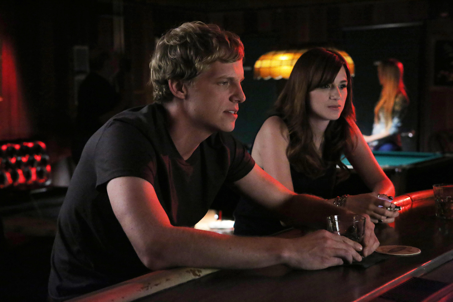 Youre the Worst Stars Aya Cash and Chris Geere on