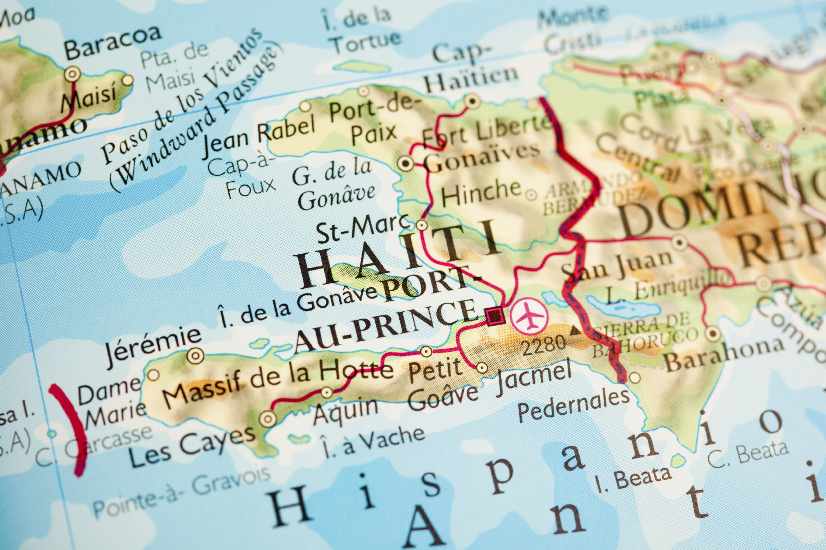 Haiti And The Dominican Republic A Conflict Captured On Film - Haiti major cities map