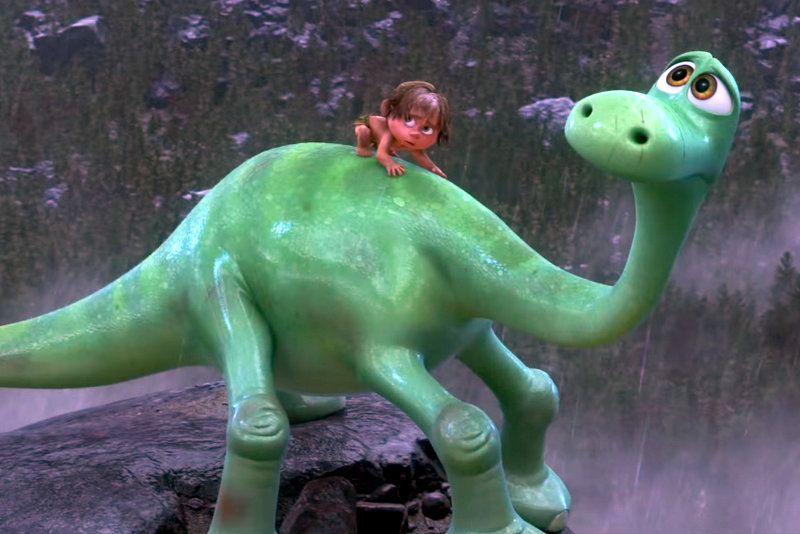 watch new trailer for pixar s the good dinosaur takes you to a