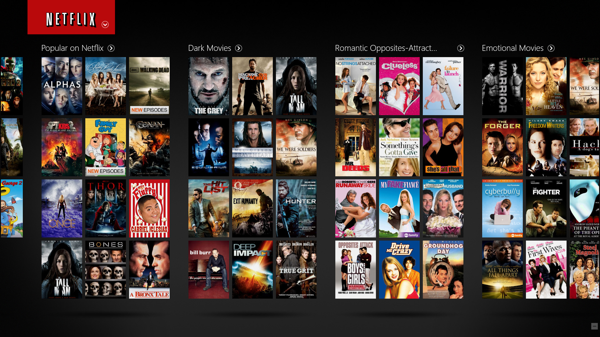 Update: So How Doesflix Categorize Titles In Its Film & Tv Libraries?  Indiewire Update