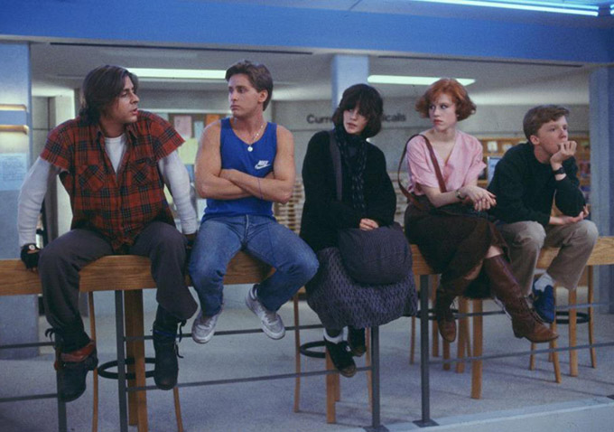 "watch go to detention this video essay about john hughes  when cinema of the 1980s is the topic of conversation undoubtedly ""the breakfast club"" is part if not the centerpiece of the discussion"