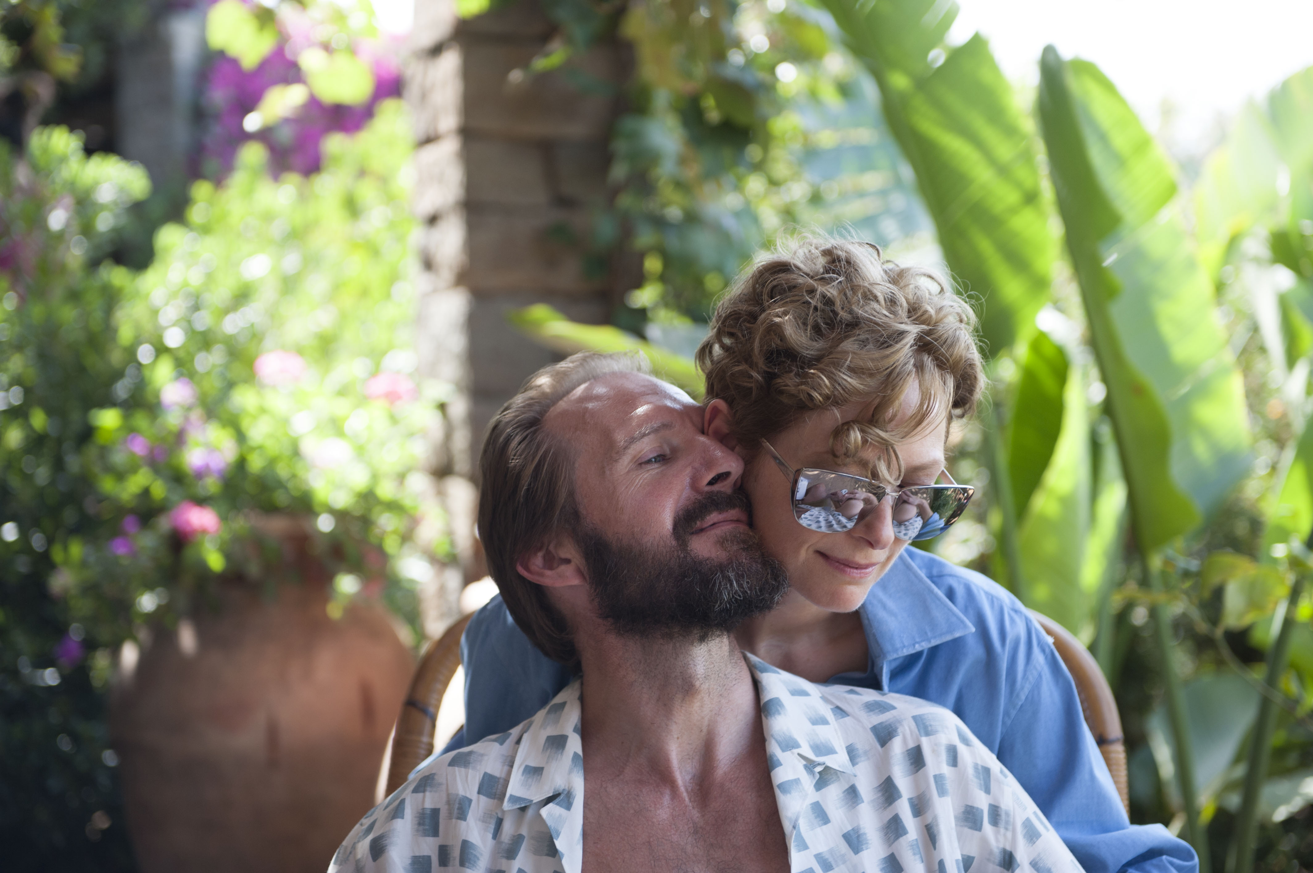Ralph fiennes deserves an oscar for his dance moves in a for A bigger splash movie