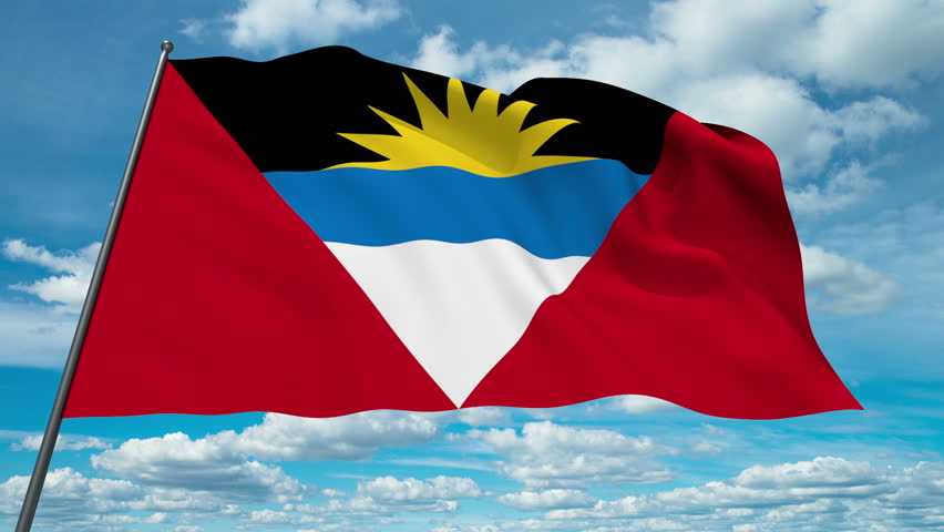 Pictures Of Antigua And Barbuda National Flag