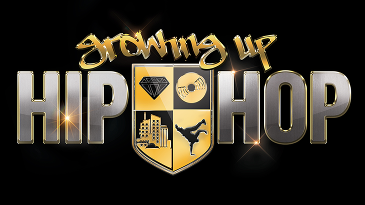 Image result for growing up hip hop logo