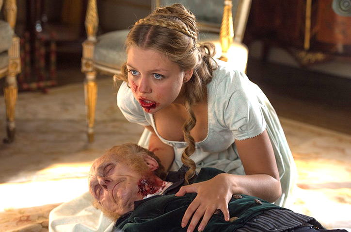 Watch Elizabeth Bennet Gets Gory And Gruesome In Pride And