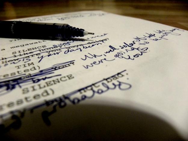 writing a film script