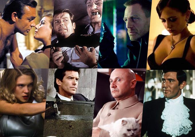 James Bond Film Liste