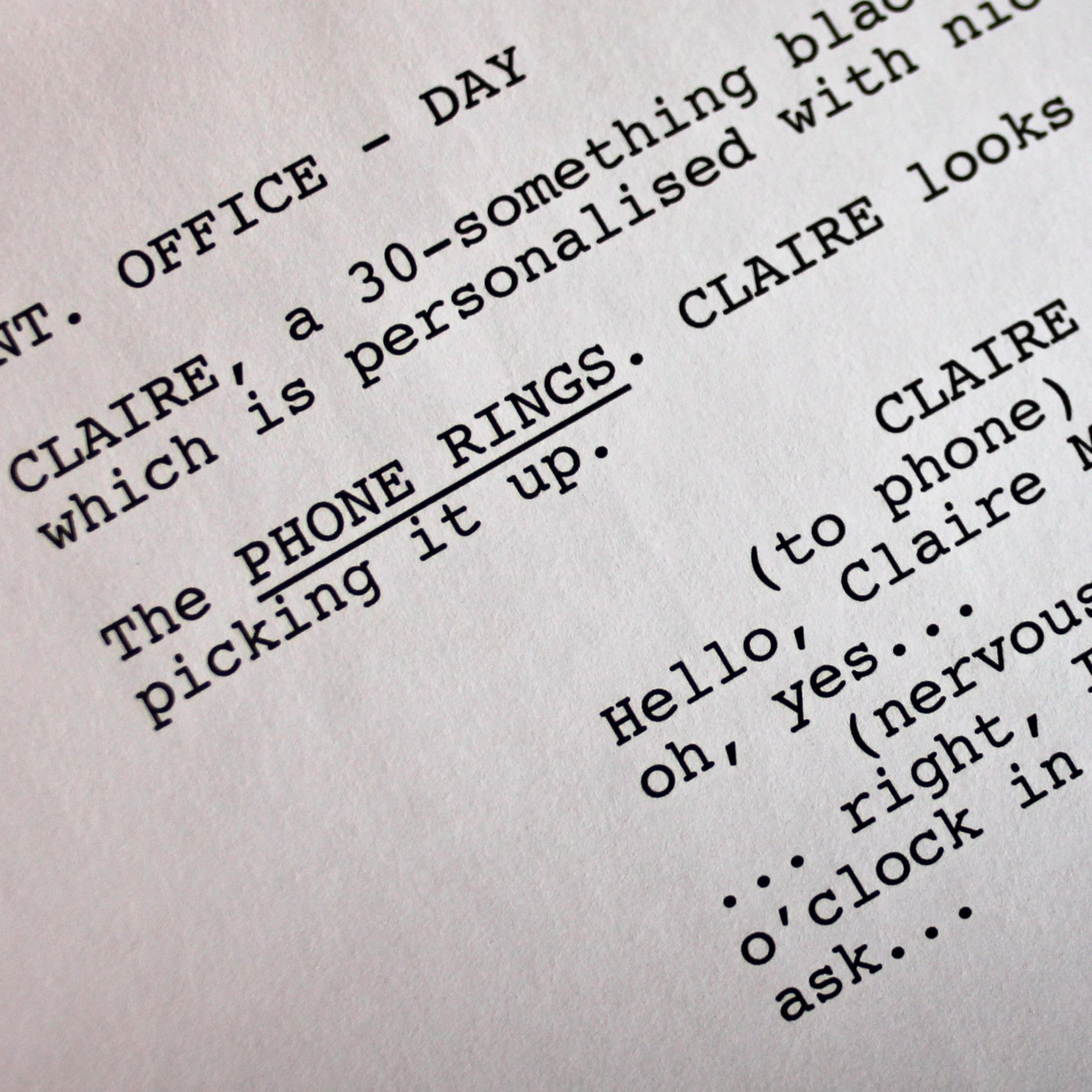 notes from the screenwriting desk 10 tips to help you craft a