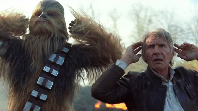 'Star Wars: The Force Awakens' Deleted Scene: Chewbacca Violently Dismembers Rey's Junk Boss