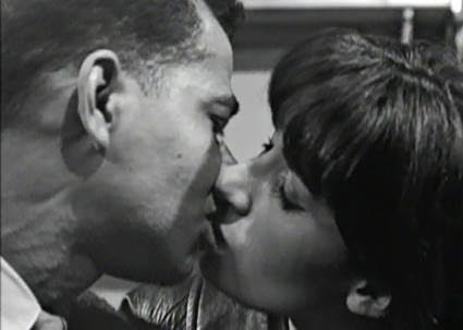 Resultado de imagem para the first american interracial kiss on television You in Your Small Corner, was uncovered