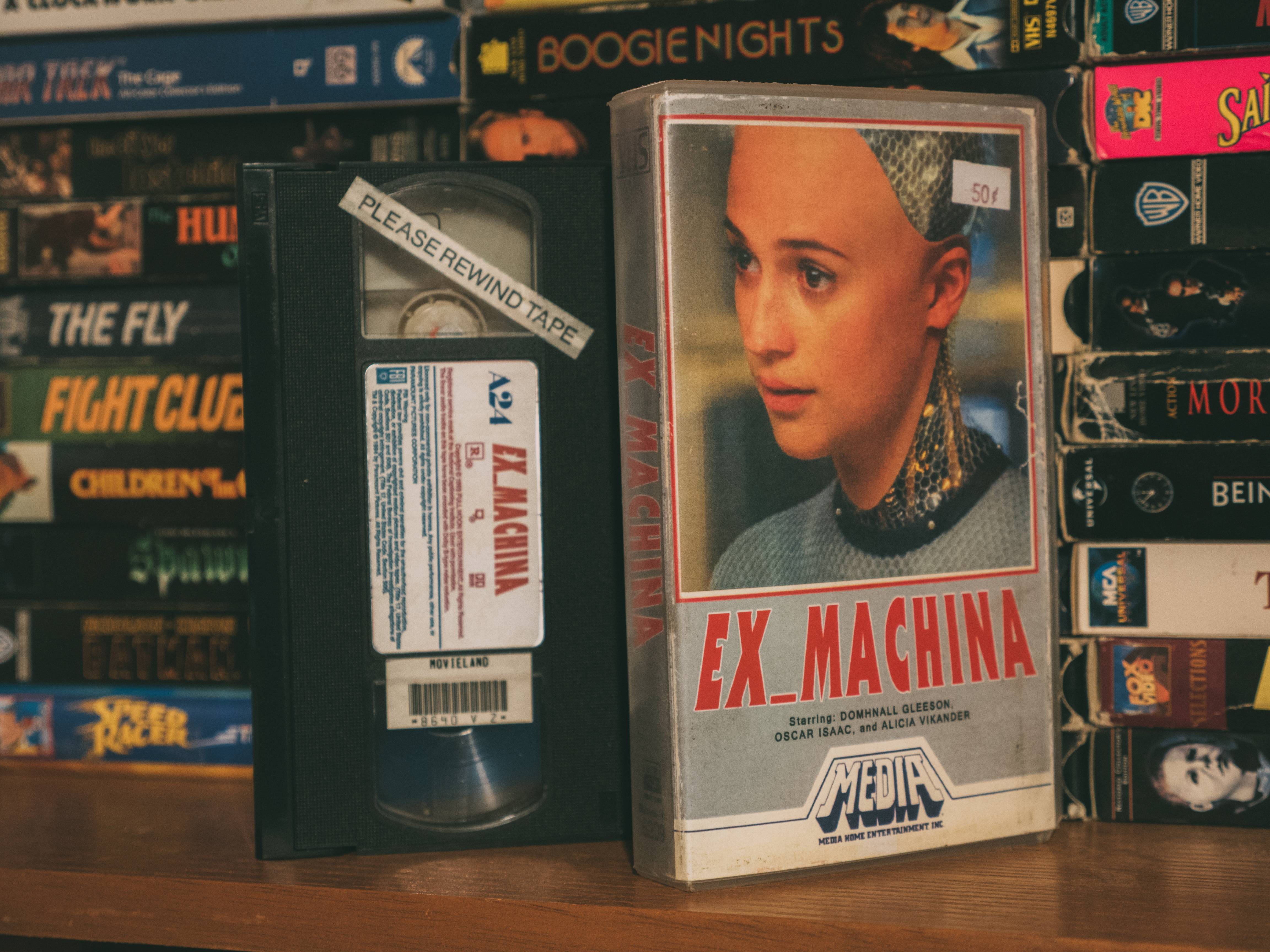 current classics go retro in these reimagined vhs covers