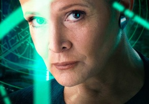 Star Wars The Force Awakens carrie Fisher