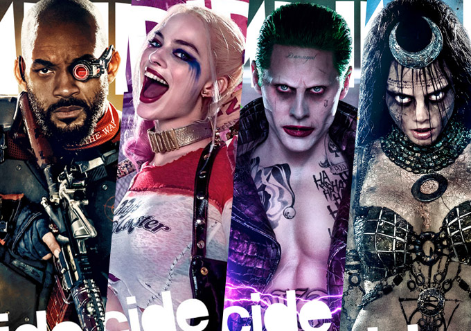Watch there s no escape in the new trailer for suicide squad