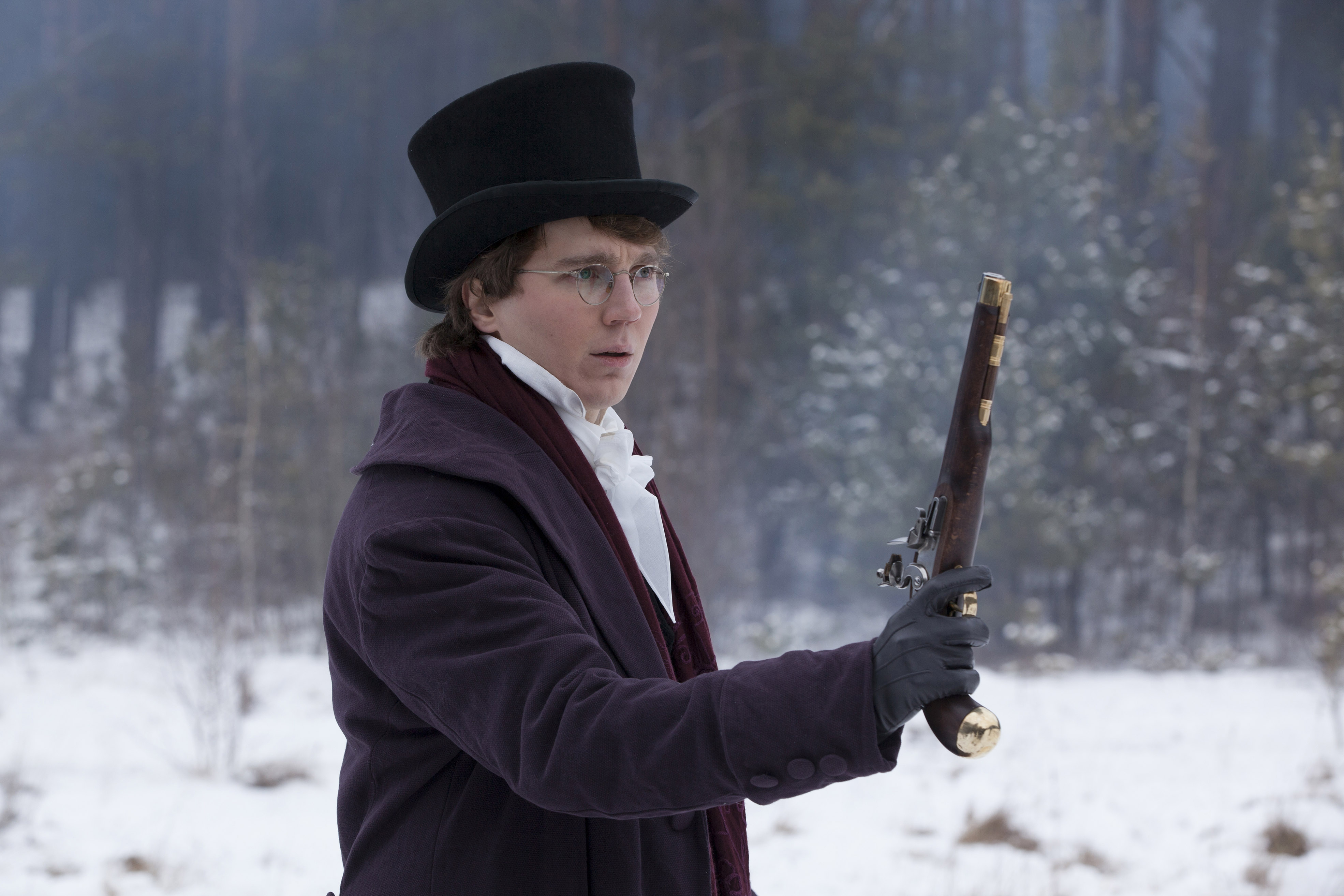 what paul dano and the cast of �war amp peace� discovered