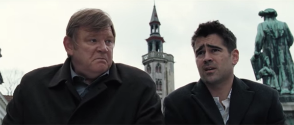in bruges for the oscar Although the oscar omission did disappoint him since then, he has also been nominated for his script of in bruges.