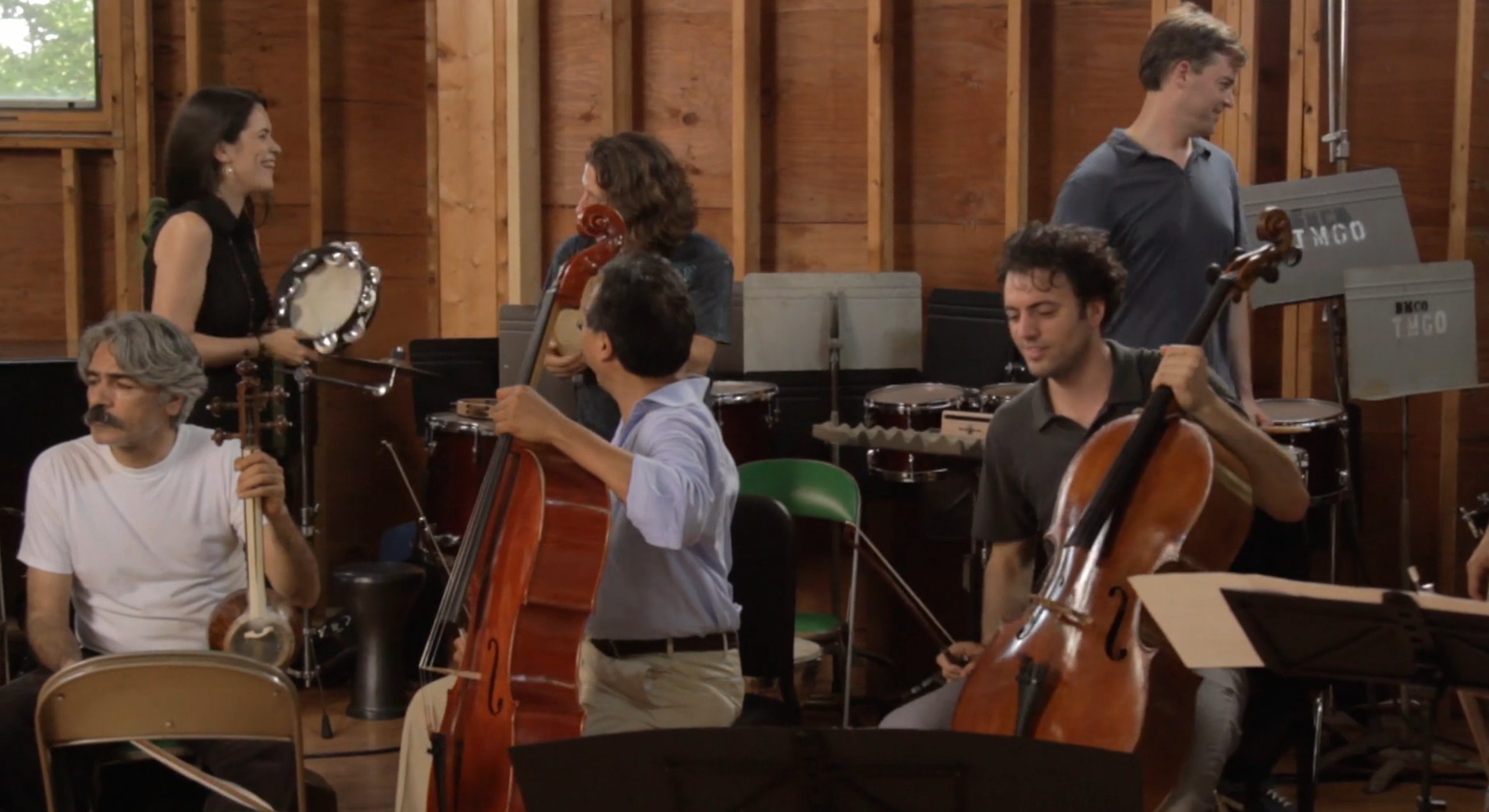 Exclusive: Instruments Collide in Eye-Popping Poster for Yo-Yo Ma's