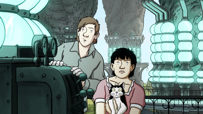 Watch: This Tintin-Inspired 'April and the Extraordinary World' Trailer Will Charm You