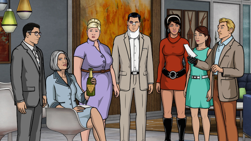 Review Archer Season 7 Episode 1 The Figgis Agency Kicks Off With A Bang And A Body Indiewire