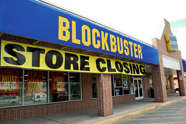 �historic blockbuster store� offers glimpse of how movies