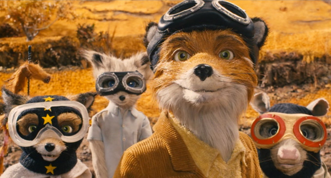 Image result for wes anderson fox