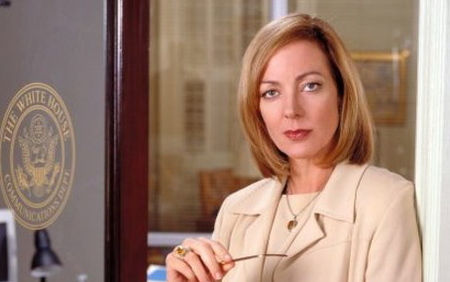 'The West Wing' Star Allison Janney Takes Over Today's ...
