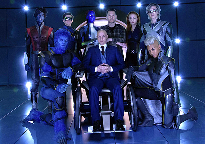 """watch the four horseman give mutants trouble in new trailer for by the time """"x men apocalypse"""" rolls around will you have had your fill of expensive superhero spectacle this year we ve already been bludgeoned by """""""