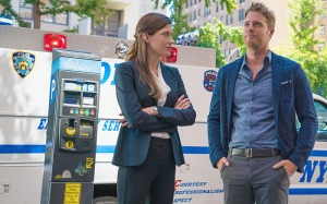 "Jennifer Carpenter and Jake McDorman, ""Limitless"""