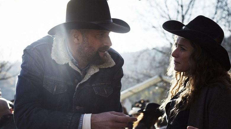 Francois Damiens in Les Cowboys