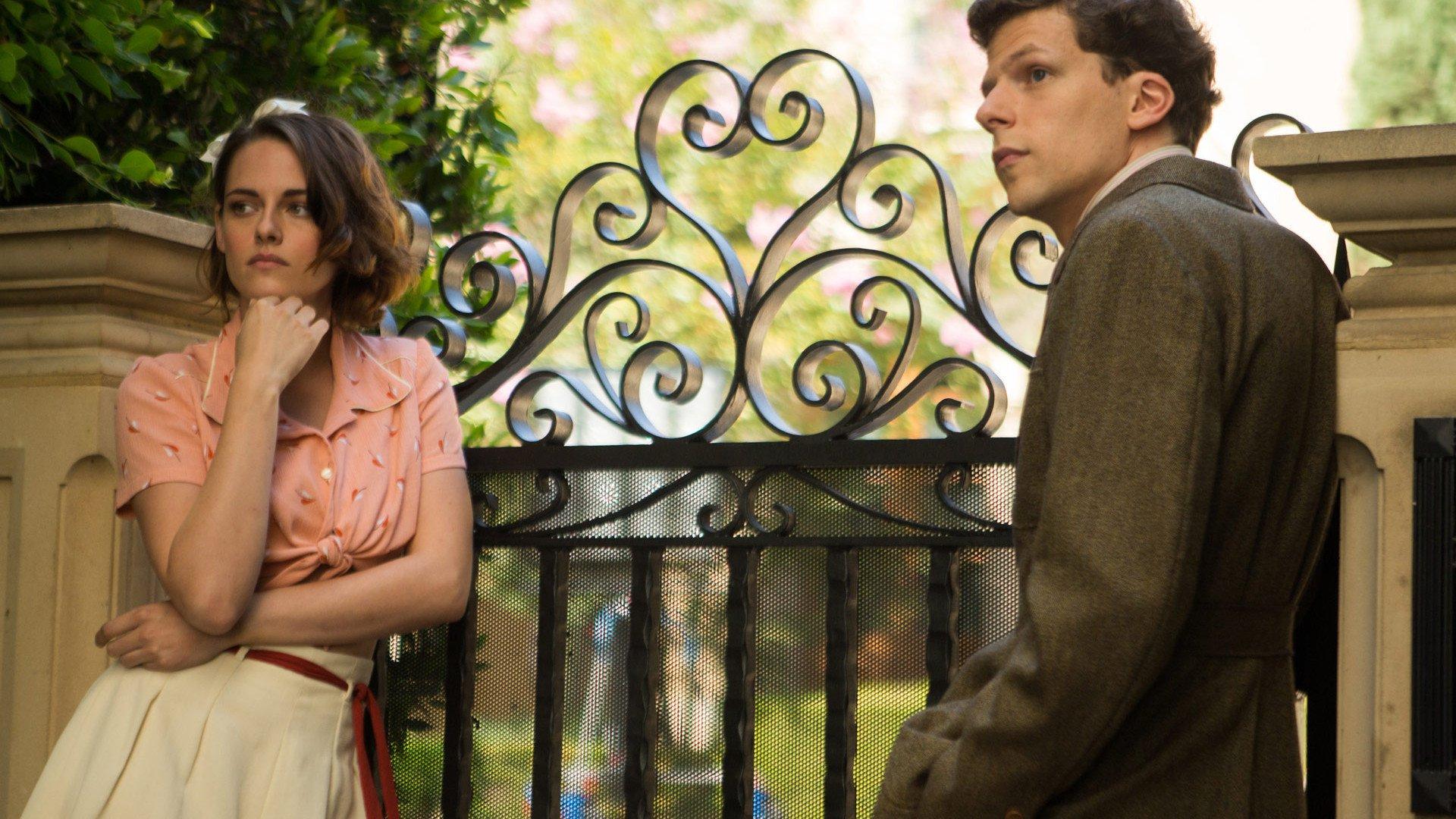 Kristen Stewart and Jesse Eisenberg in Woody Allen's Café Society