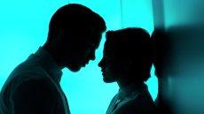 Kristen Stewart and Nicholas Hoult in Drake Doremus' Equals