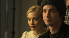 "Logan Lerman and Sarah Gadon in ""Indignation"""