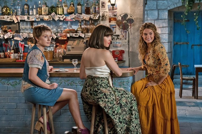 b6bd060a8b4b7 Mamma Mia! Here We Go Again  Review  Lily James Breaks Out in Sequel ...
